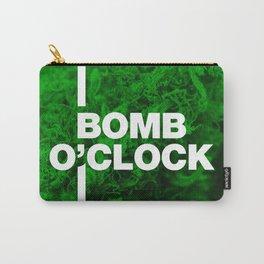Bomb O'clock - Marijuana bud design Carry-All Pouch