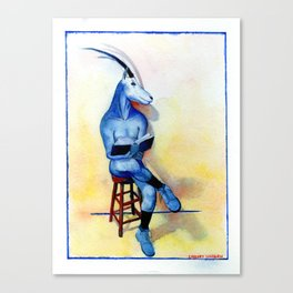 Scimitar Horned Oryx Canvas Print