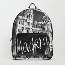 I love Madrid Backpack