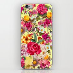 Botanic Pattern iPhone & iPod Skin