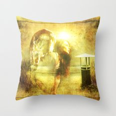 Angel Spirit Throw Pillow