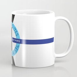 YES YES Means – ROUND Coffee Mug