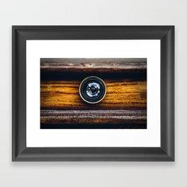 Peephole Framed Art Print