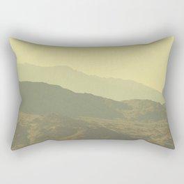 Palm Springs Mountains I Rectangular Pillow