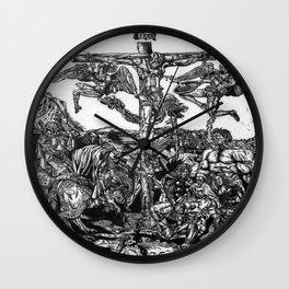 Hemmorrhage Wall Clock