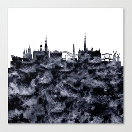 Amsterdam City Skyline Canvas Print