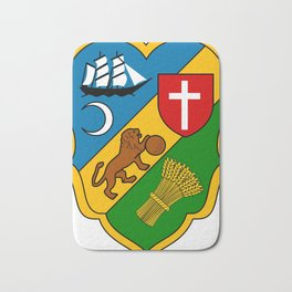 Algiers Coat Of Arms Bath Mat