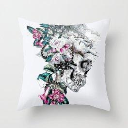 Momento Mori Rev V Throw Pillow
