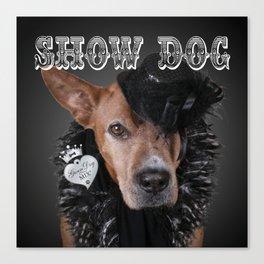 ShowDog Canvas Print