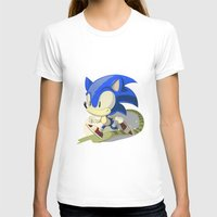 sonic T-shirts featuring Sonic by Rod Perich