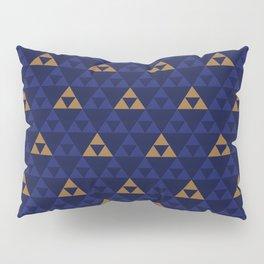 The Golden Power (Blue) Pillow Sham