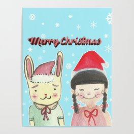 Christmas Friendship Poster