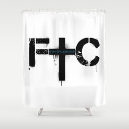 FindChaos - Logo Shower Curtain