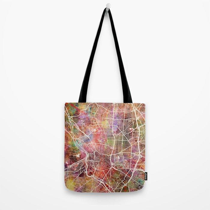 Madrid map Tote Bag