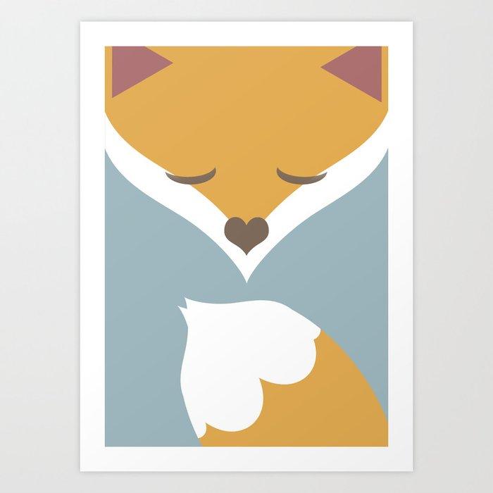 liška Art Print
