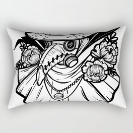 Plague Doctor Rectangular Pillow