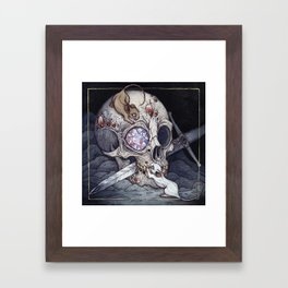 Treasure of the Devil's Bayou Framed Art Print