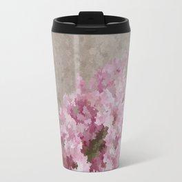 Pink Hyacinth Travel Mug