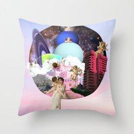 Modern Heaven Throw Pillow