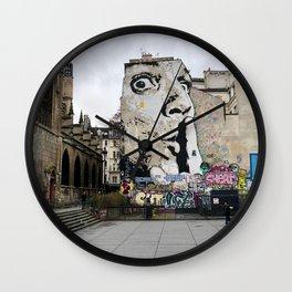 Art Piece by Karin Schep Wall Clock