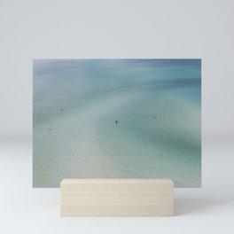Swimming at Whitsundays Mini Art Print