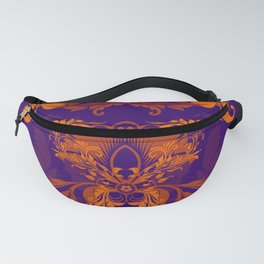 floral ornaments pattern vo Fanny Pack