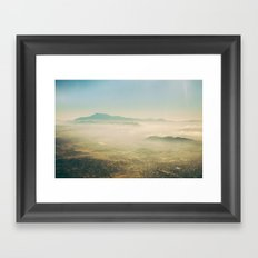 Overview Framed Art Print