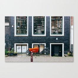 Grachtengordel - Amsterdam, The Netherlands - #2 Canvas Print