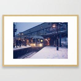 Juno Express Framed Art Print