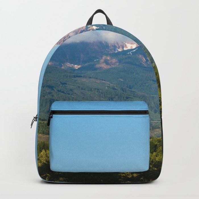 Sunny Mountain Summer Backpack