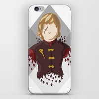 lannister iPhone & iPod Skins featuring Tyrion Lannister by itsamoose