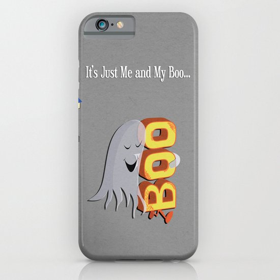 Just Me And My Boo iPhone & iPod Case