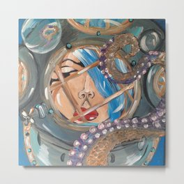 Tantalizing tentacle Metal Print