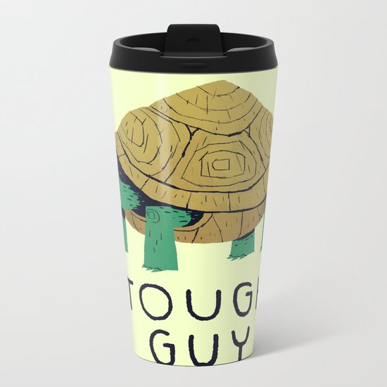 tough guy Metal Travel Mug
