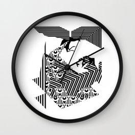 fray Wall Clock