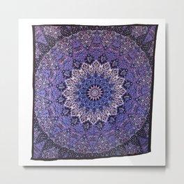 Indian Star Mandala Wall Hanging Tapestry Home Decor - See more at: http://www.handicrunch.com/en/pr Metal Print