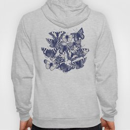 butterfly strawberry pink Hoody