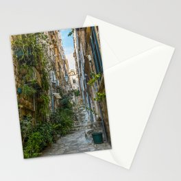 Stairs of Dubrovnik - Croatia Stationery Cards