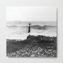 Wave Metal Print