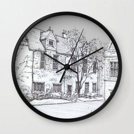 York Quadrangle Wall Clock