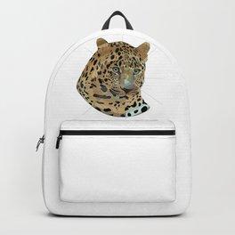 Leopard Geometric Backpack
