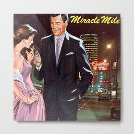 California Miracle Mile Metal Print