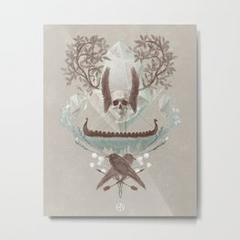 Ghosts of Scandinavia. Iceland. Metal Print