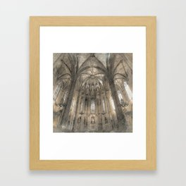 Cathedral in Framed Art Print