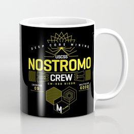 Deep Mining Crew / Nostromo / Alien / Science Fiction / Horror / Typography Coffee Mug