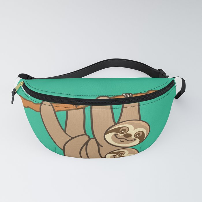 60285386bcf0 Cute Sloths!! Fanny Pack by plushism