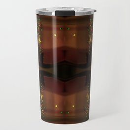 ABSTRACT FACE Travel Mug