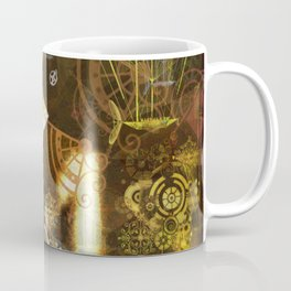 123 (A Steampunk Collage) Coffee Mug