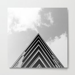 This building on Sherbooke Street Metal Print