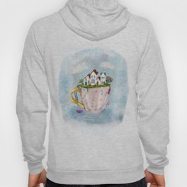 Pink Cup island Hoody